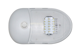 Diamond Group 65429 Slim Line Single Dome LED Light Daylight 5500K