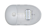 Valterra DG654291VP Slim Line Single Dome LED Light Warm White 3500K
