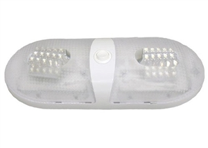 LED Interior Pancake Light Double White