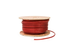 EAST PENN 04602 6 Gauge 100' Spool Red Cable Wire