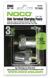 Xantrex 813-0281-07 Charging Post: Zinc, Pos / Neg
