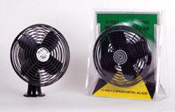 TWENTY-SIX ELEVEN 31000 Heavy-Duty Fan, Black, 1/pack