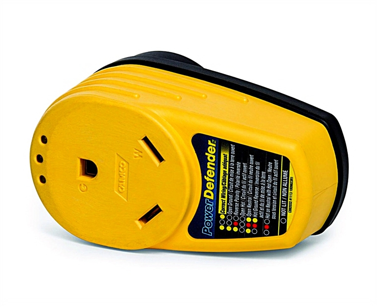 Camco 55310 Power Defender Rv Circuit Analyzer 30 Amp