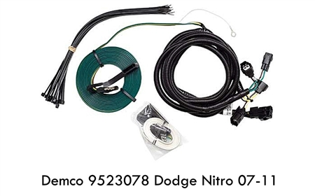 Demco 9523078 Towed Connector Dodge Nitro 07-11