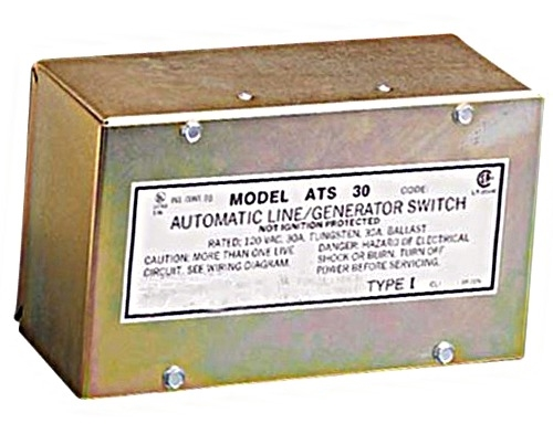 Parallax Automatic Transfer Switch 30 Amp