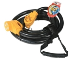 Camco 55195 50 Amp PowerGrip Cord with Handle 30'