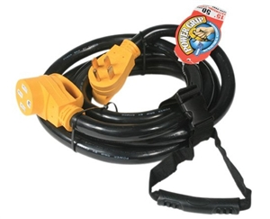Camco 55195 Power Grip Extension Cord - 50 Amp - 30'