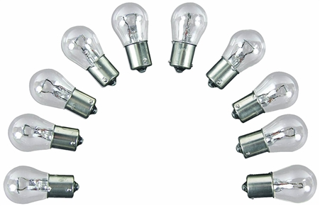 Camco 54759 Replacement RV/Auto 906 Interior Light Bulb - 2 Pack