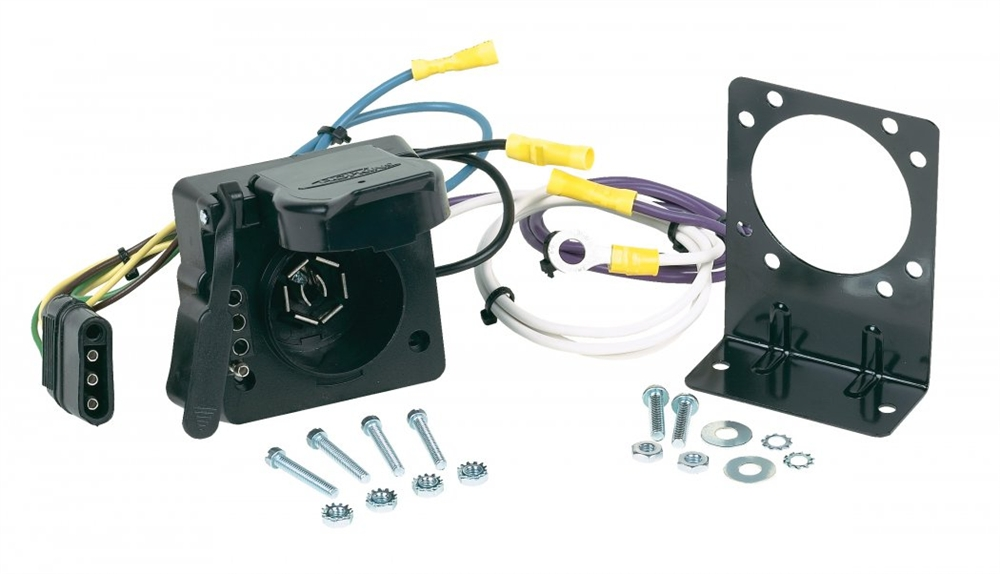 hopkins 47185 multi tow wiring adapter kit - 7:4  rvupgrades