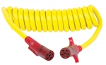 Hopkins Towing Solutions 47055 Nite-Glow Flexcoil 6-Round to 6-Round Adapter