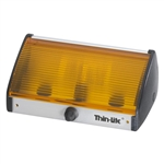 Thin Lite 160I18A Incandescent Porch Light - Amber