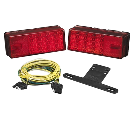 Bargman 31-407540 Low Profile Trailer Light Kit