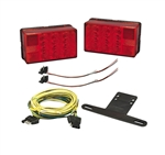 Bargman 31-407560 4x6 Low Profile Trailer Light Kit