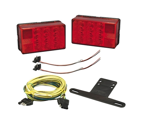 Bargman 31-407560 Low Profile Trailer Light Kit - 4x6