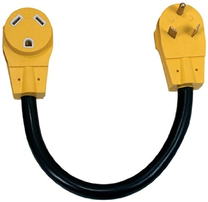 Camco 55205 Power Grip Extender Cord - 30 Amp - 18""