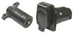 Pollak 12-705E 7 Way Connector Without Bracket