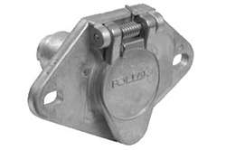 Pollak 11-404 4 Way Socket Vehicle Side - 35A