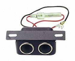 Prime Products 08-5040 Twin 12V Under Dash Accessory Socket