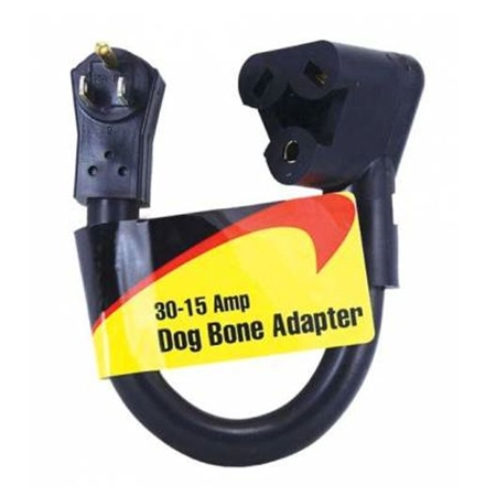 JR Products M-3023-B Dogbone Adapter