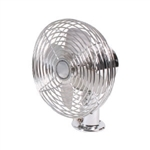 Madison Accessories 21000 Heavy Duty Chrome Defrosting And Cooling Fan