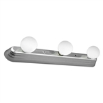 Gustafson Contemporary Satin Nickel Cosmetic Light