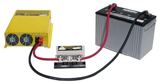 Go Power GP-DC-KIT5 Inverter DC Install Kit, 3000W, 12V