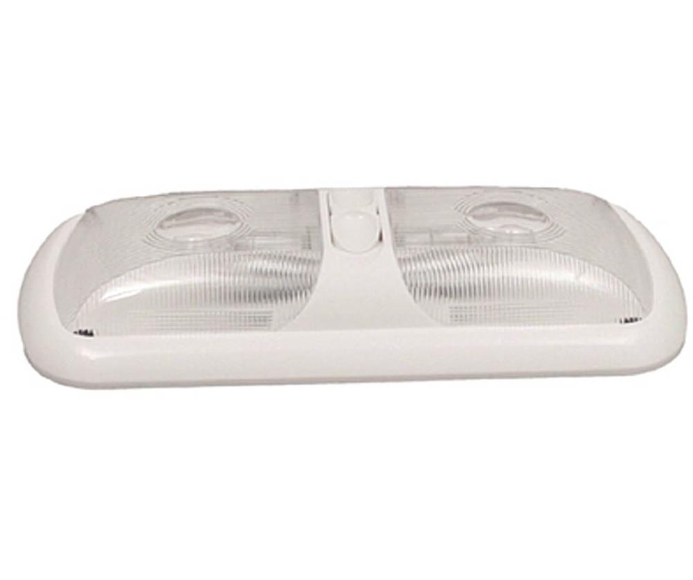 Gustafson Am4010 Double Optic Rv Pancake Light With Switch