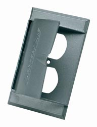 HD SUPPLY ELECTRICAL 5001-O Metal Receptacle Cover