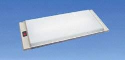 Thin Lite 736 WHT Shallow Recessed Fluorescent Light