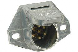 Pollak 11-720 7-Way Metal Socket Connector