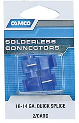 Camco 63801 Self-Tapping Connectors, 18-14 AWG