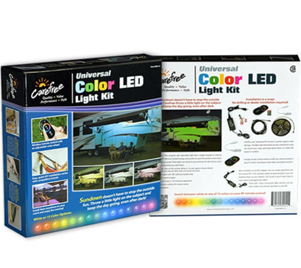 Carefree SR0112 LED RV Awning 15 Color Light Kit - 16 Ft