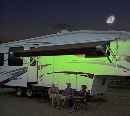Carefree SR0106 LED RV Awning Light Kit 15 Colors 16FT