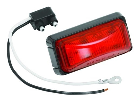 Bargman 42-37-401 LED RV Clearance Light - Red