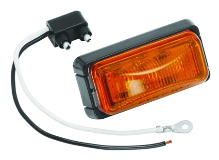 Bargman 42-37-402 LED RV Clearance Light - Amber