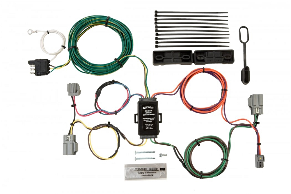Outstanding Hopkins 56007 Ford Towed Vehicle Wiring Kit Wiring Cloud Inamadienstapotheekhoekschewaardnl