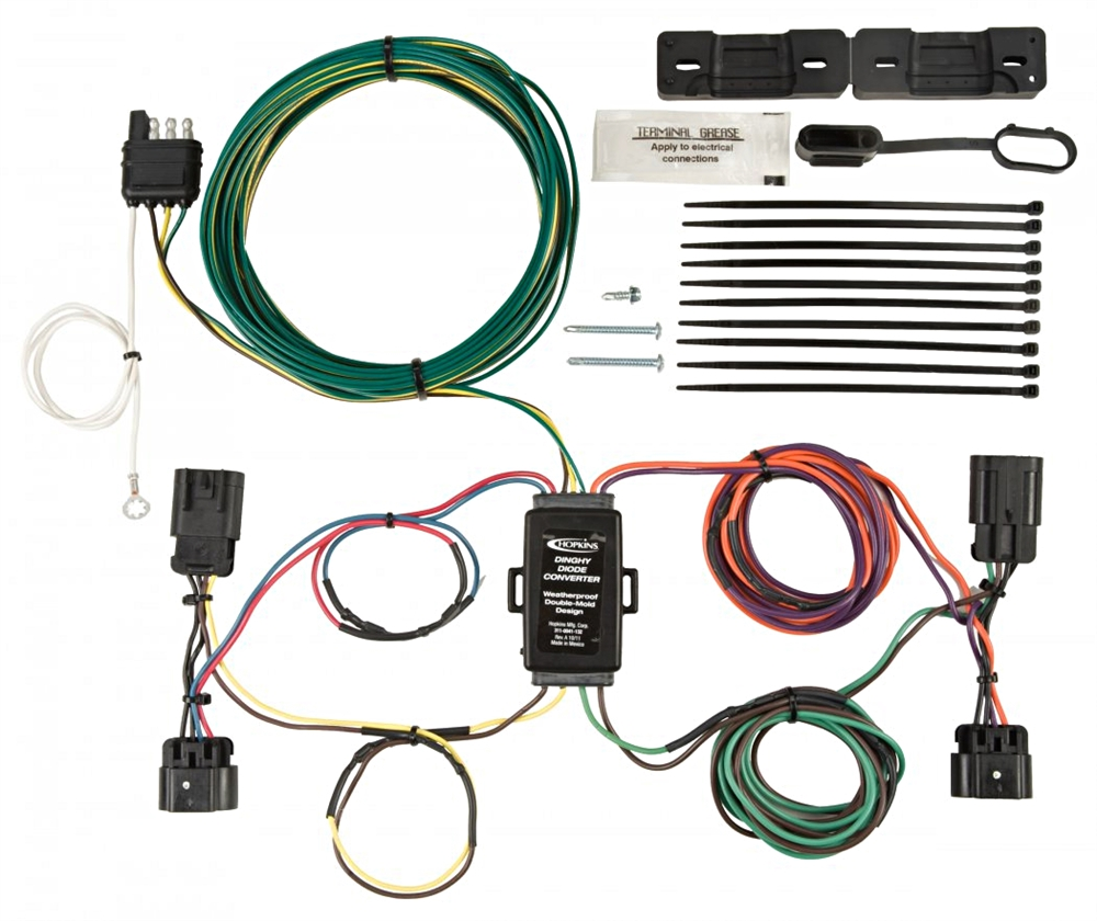 Brilliant Hopkins 56108 Chevy Gmc Towed Vehicle Wiring Kit Wiring Cloud Inamadienstapotheekhoekschewaardnl