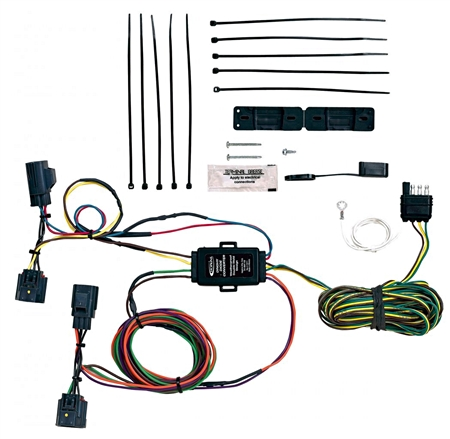 Hopkins 56204 Jeep Towed Vehicle Wiring Kit