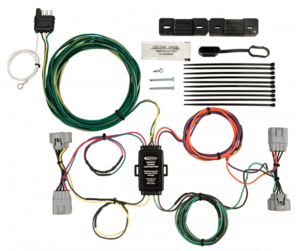 Fantastic Hopkins 56206 Jeep Towed Vehicle Wiring Kit Wiring Cloud Inamadienstapotheekhoekschewaardnl