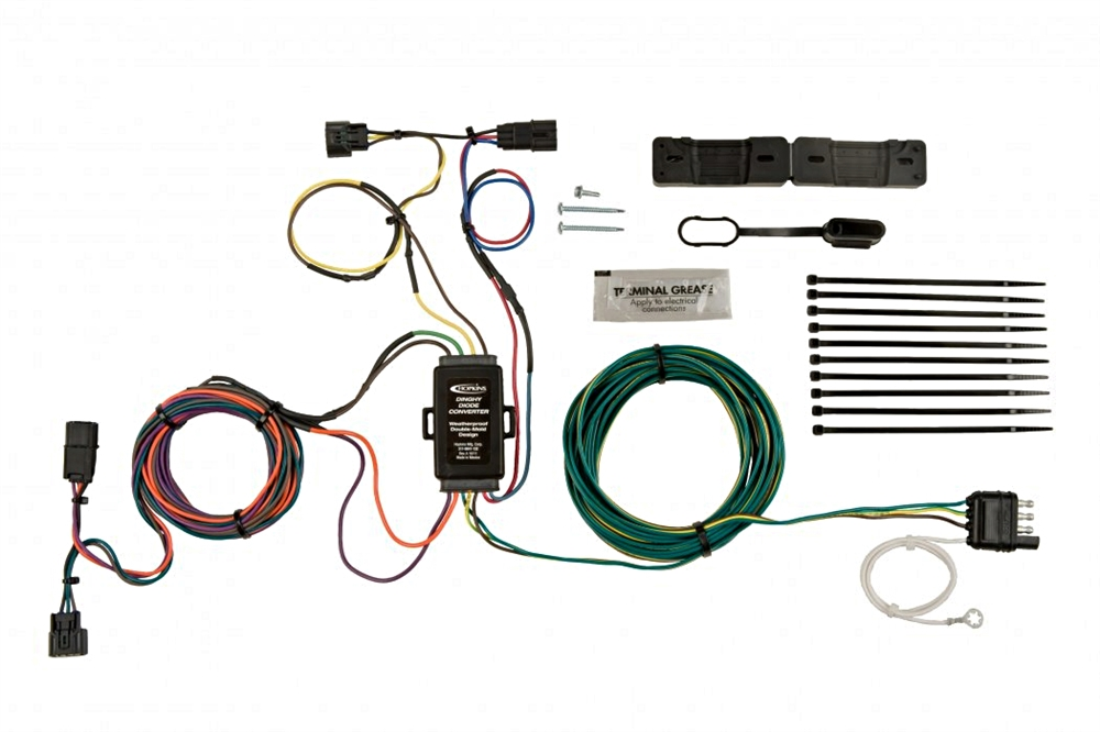 hopkins 56304 honda cr v 12 14 towed vehicle wiring kit