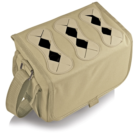 Picnic Time Six-Porter Beverage Tote - Tan