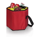 Picnic Time Bongo Cooler - Red