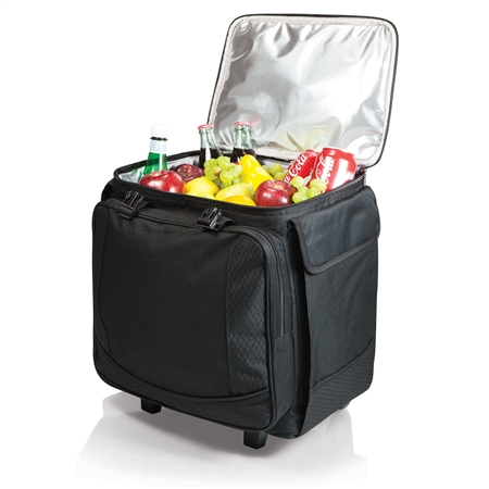 Picnic Time Bodega Wine Tote and Cooler - Black