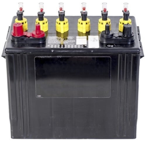 Ez Battery Check 12 Volt Deep Cycle Battery Caps With Water Level Monitor -  6-Pack