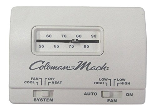 Mach 7330G3351 Analog HeatCool Wall RV Air Conditioner Thermostat