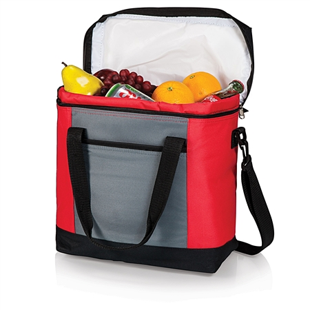 Picnic Time Montero Cooler Tote - Red, Grey and Black