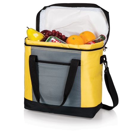 Picnic Time Montero Cooler Tote - Yellow, Grey and Black