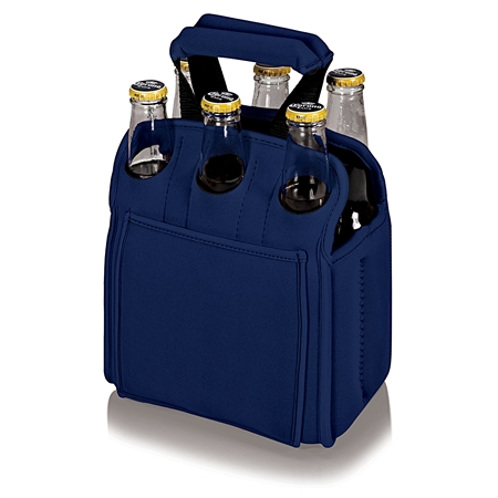 Picnic Time Six Pack Beverage Carrier - Navy