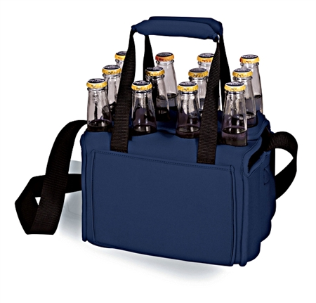 Picnic Time Twelve Pack Beverage Carrier - Navy