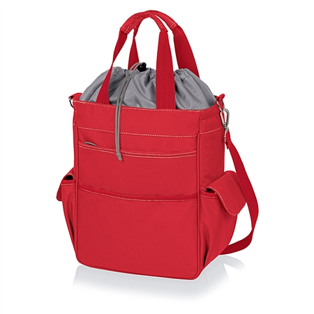 Picnic Time Activo Cooler Tote - Red